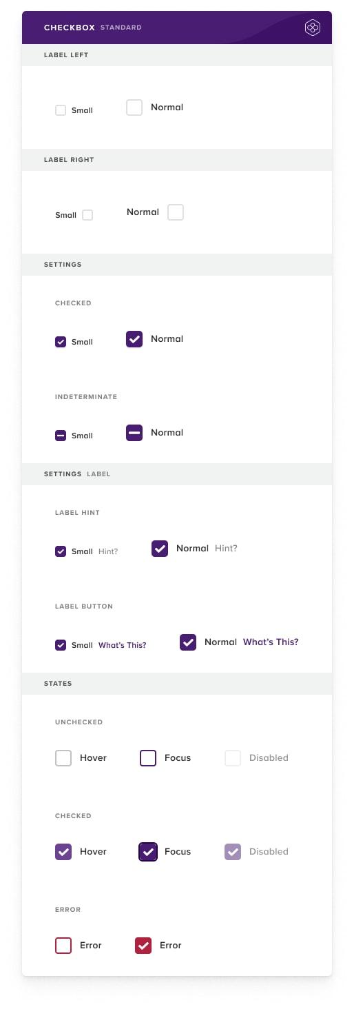 Checkbox-–-Standard